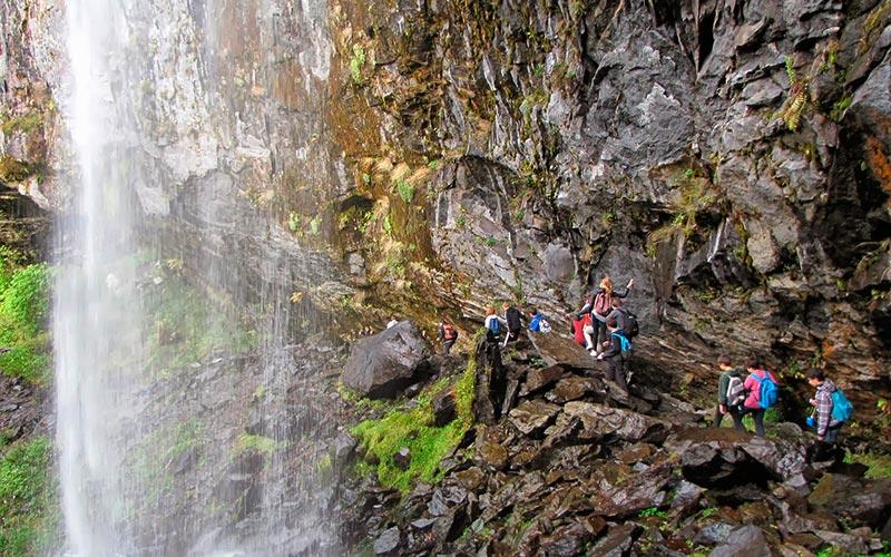 Classe d'eau en Auvergne | Élément Terre - la Grande cascade du Mont-Dore