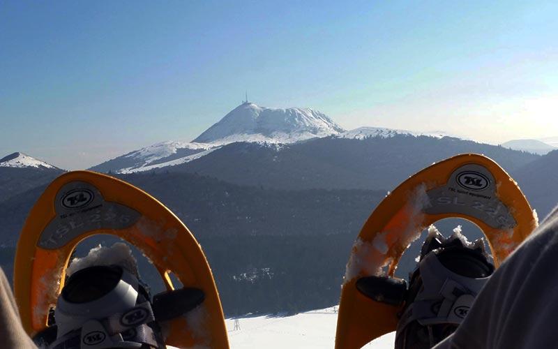 Classe de montagne en hiver en Auvergne | Élément Terre - le Puy-de-Dôme en hiver