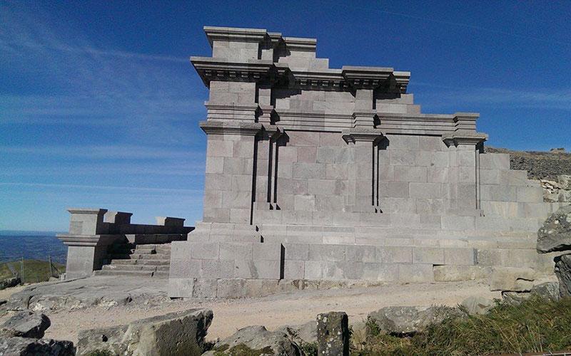 Temple de Mercure-Dumias - Séjour Gaulois et gallo-romains |Élément Terre