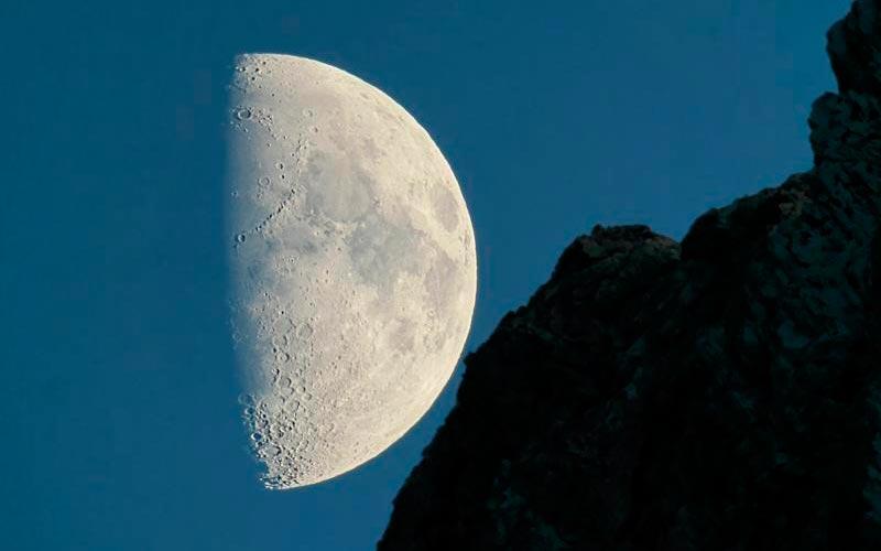 Astronomie en Auvergne | Élément Terre - Lune