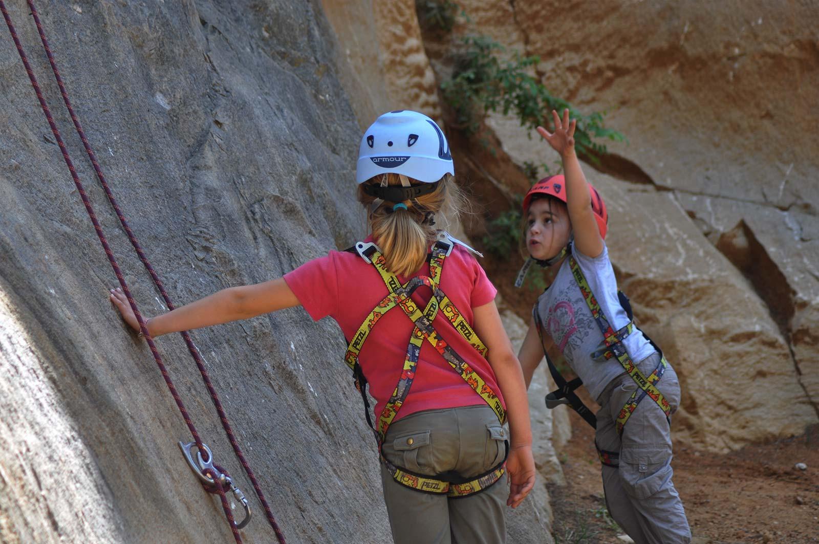 apprentissage de l'escalade|une bonne pause à l'escalade - Élément Terre