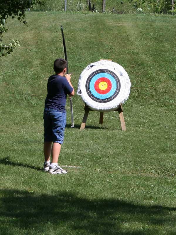 apprentissage du tir à l'arc avec Élément Terre - © Flickr