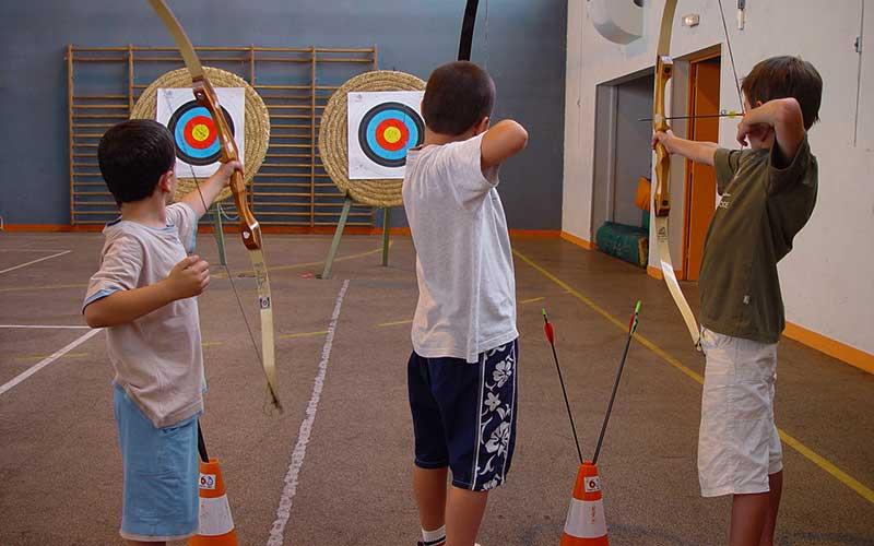 apprendre le tir à l'arc en salle avec Élément Terre