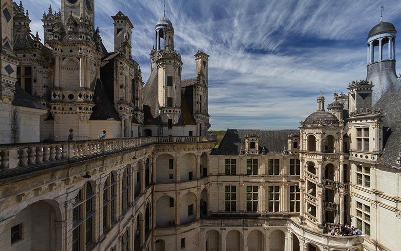 classe Renaissance française en Val-de-Loire | Élément Terre - © Benh LIEU SONG-Flickr - terrasse du château de Chambord