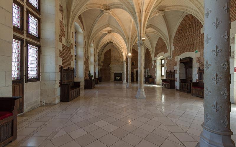 classe Renaissance française en Val-de-Loire | Élément Terre - © Benh LIEU SONG-Flickr - chambre du Conseil au château d'Amboise